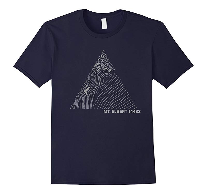 MOUNT ELBERT T-Shirt Rocky Mountains Colorado 14440ft-RT