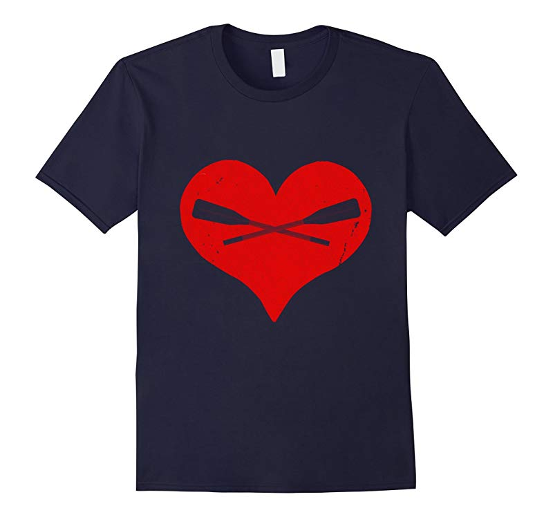 I Love Rowing T-Shirt-RT