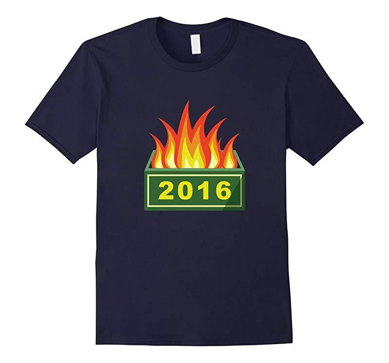 2016 Dumpster Fire T-Shirt-RT
