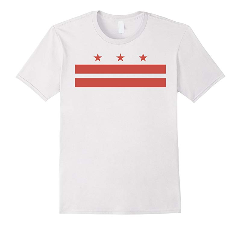 District of Columbia Washington DC state Flag USA T Shirt-RT