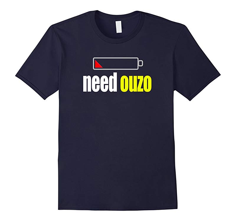Funny Ouzo T-shirt for Greek Americans Greece Pride Tee-RT