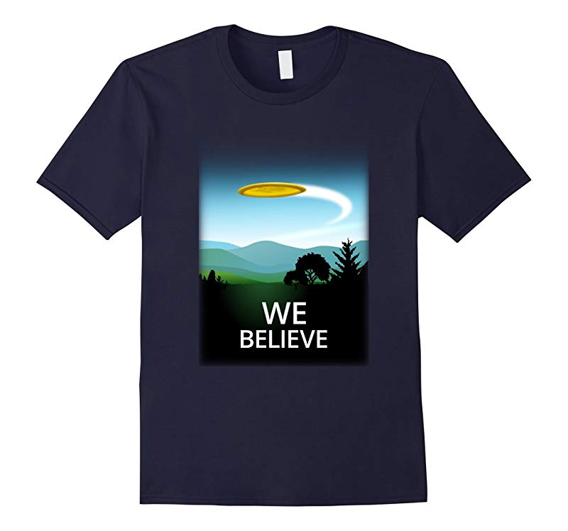 We Believe - Funny Disc Golf T Shirt-TH