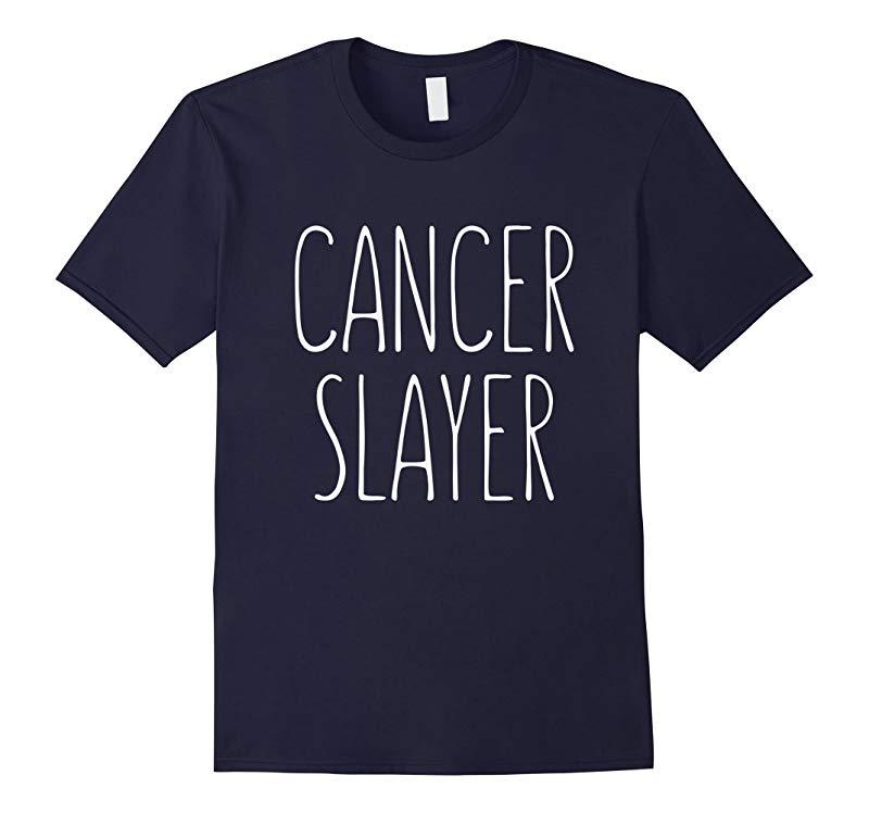 Cancer Slayer Survivor Cancer Fighting T-Shirt-RT