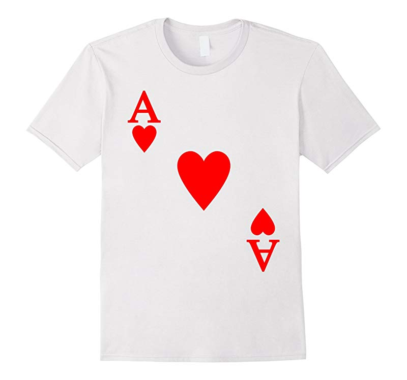 Ace of Heart Halloween Costume T-shirt-CL