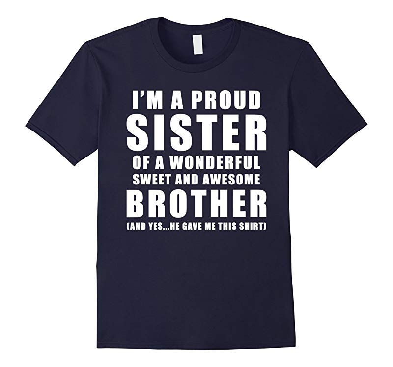 Funny Gift For Sister From Brother - Birthday Present-RT
