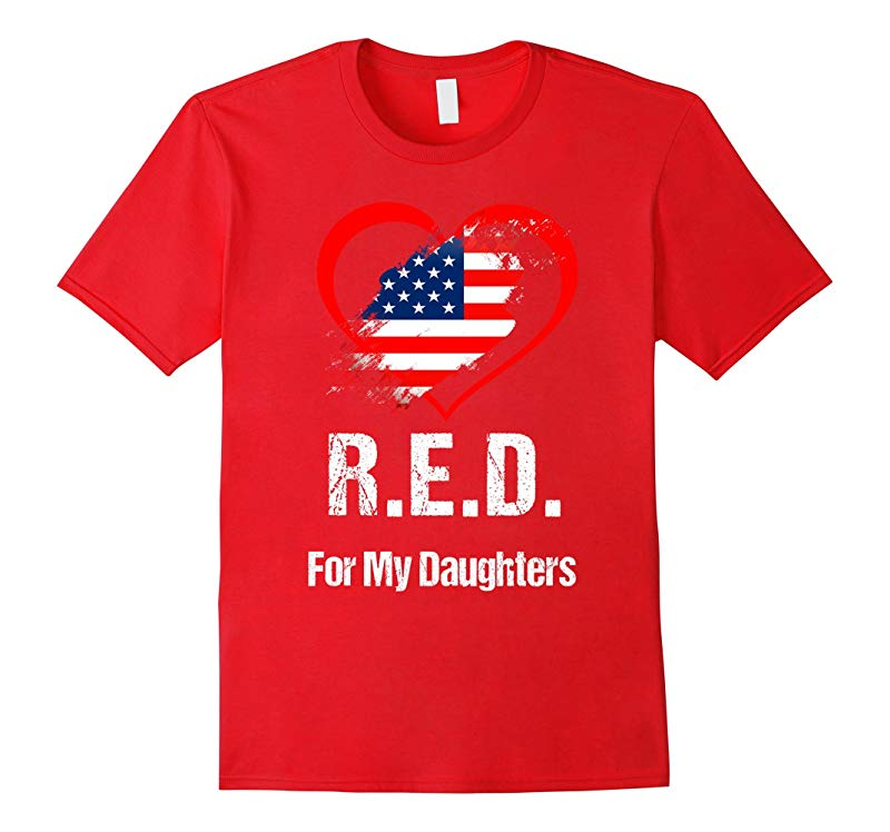 Red Friday Military For Deployed Daughters Honor Gift TShirt-RT