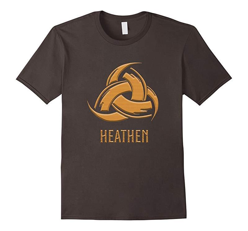 Odins Horns Heathen T-Shirt-TD