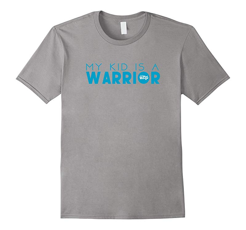 My Kid is a Warrior Type 1 Diabetes T-Shirt-RT