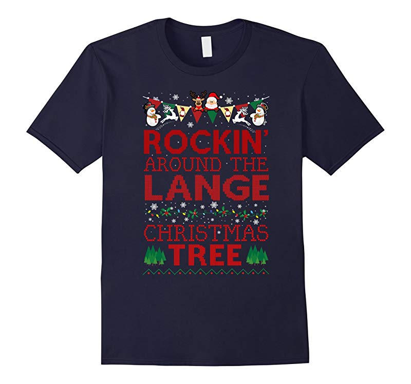 Lange Family Christmas T-shirt-RT