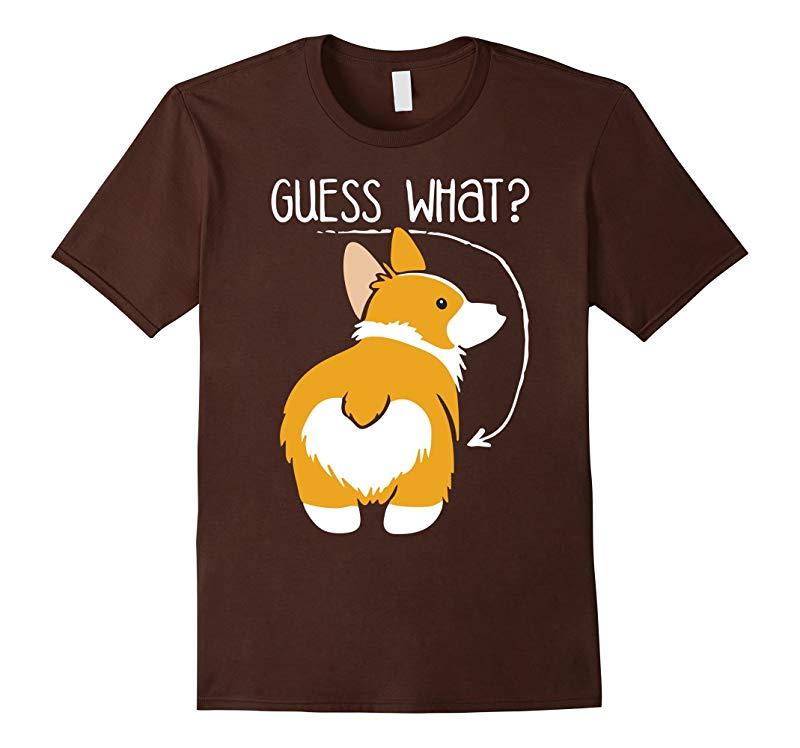 Corgi Butt Dog T-Shirt - Dog Lovers-RT