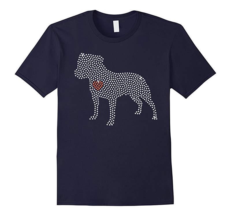 Staffordshire Bull Terrier tshirt i love my Staffordshire B-RT