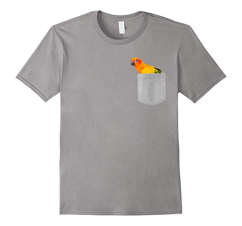 Animal in Your Pocket Sun Conure Parrot t shirt-RT