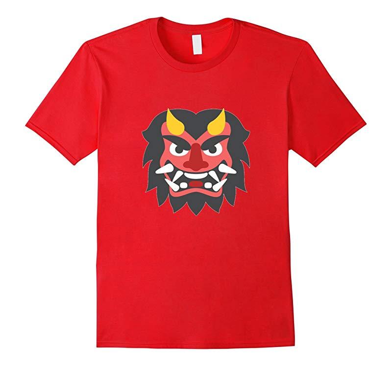 Japanese Ogre Emoji T-Shirt-RT