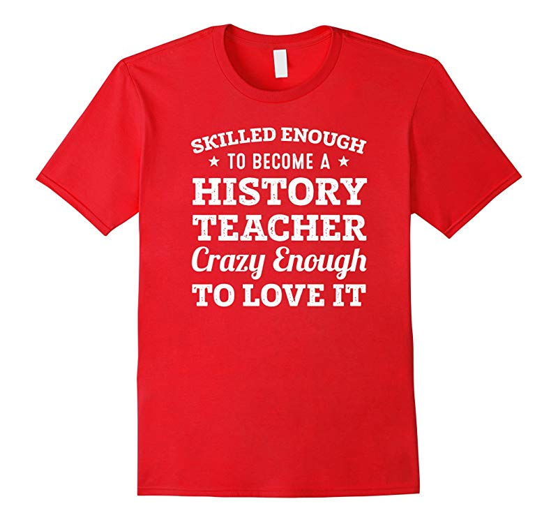 Funny Skilled History Teacher 2017 Gifts T-Shirt-RT