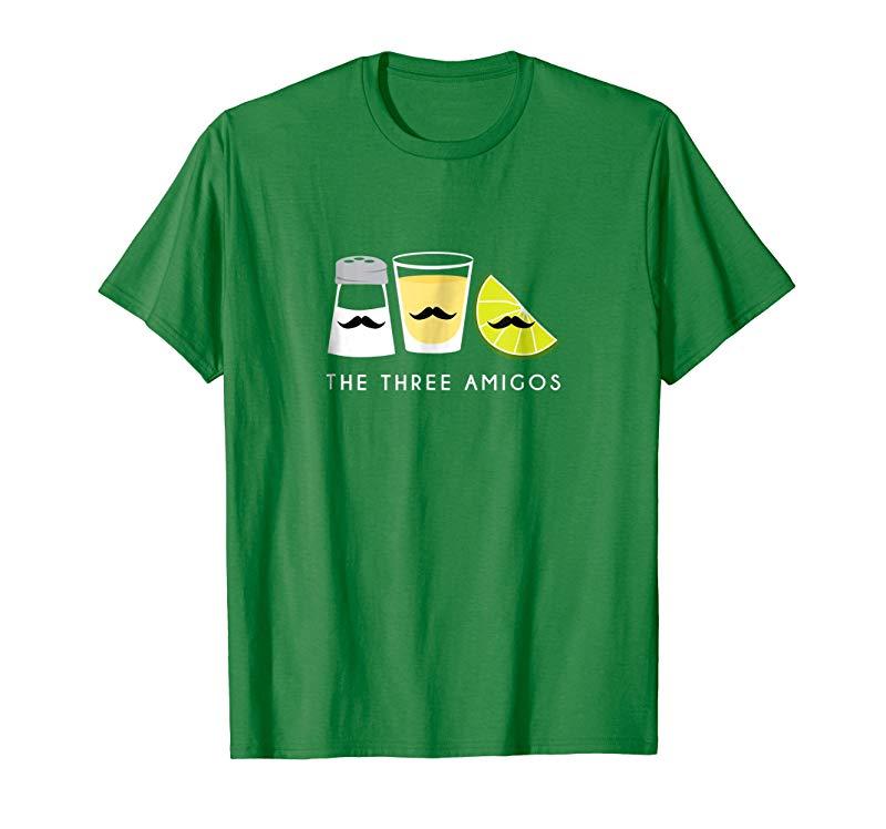 Three Amigos Shirt, Tequila Lime Salt Cinco de Mayo Gift-alottee gift