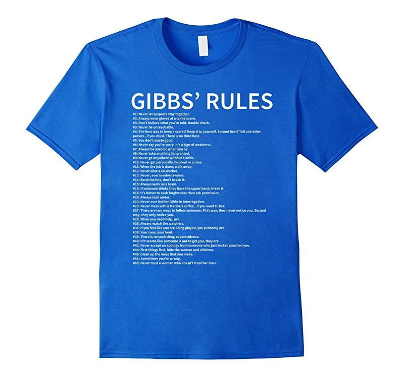 Gibbs Rules T Shirt Gibbs Rules Shirt Gibbs Rules T Shirt Complete List-axz
