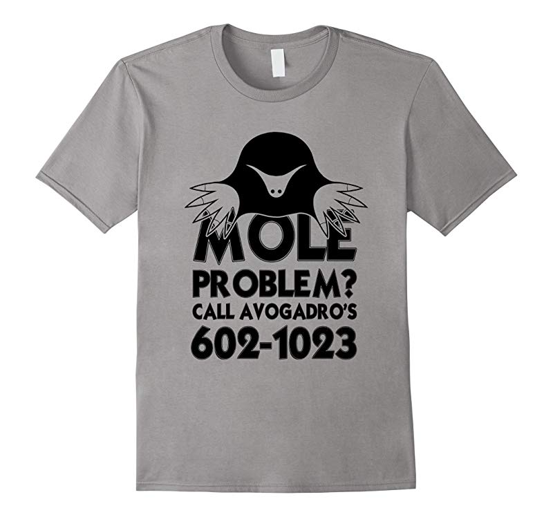 Mole Day Avogadro's Number T-Shirt-FL