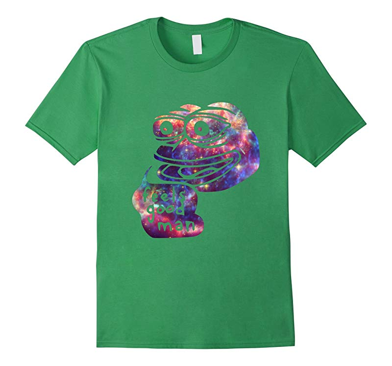 Rare Dank Meme Shirt  Cosmic Galaxy Feels good Pepe T-Shirt-RT