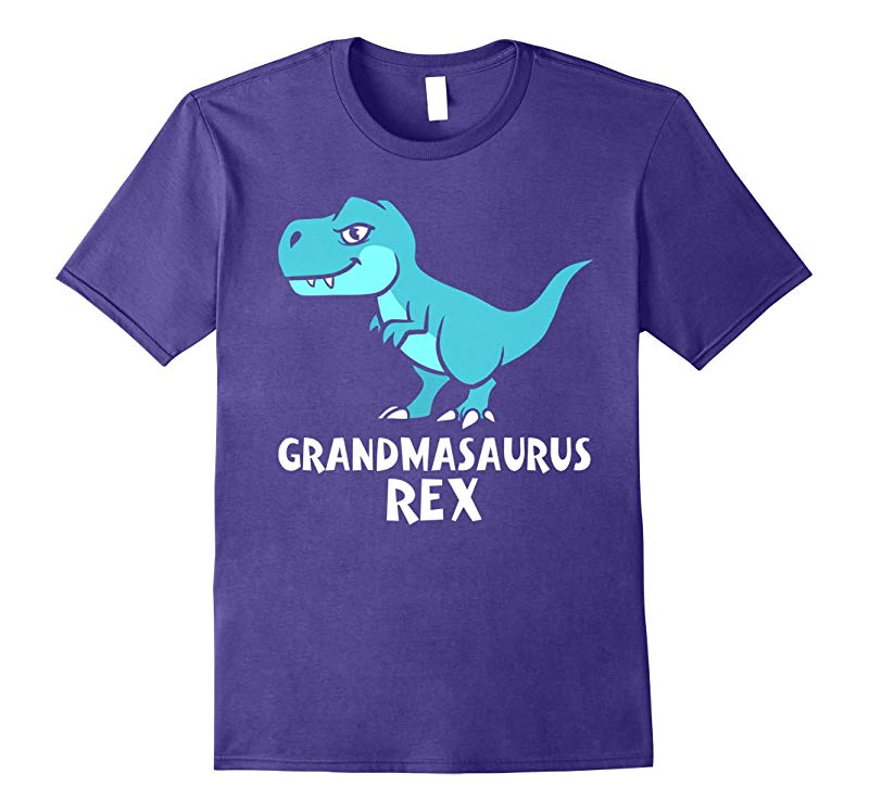 GRANDMASAURUS Rex Fun Grandma Dinosaur T-Shirt Saurus-RT