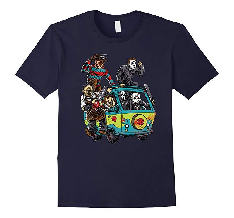 The Massacre Machine Horror Shirt-RT