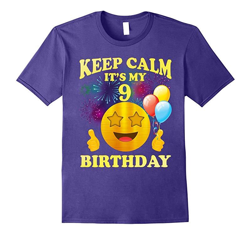It's My 9th Birthday Shirt 9 Years Old 9th Birthday Gift-RT