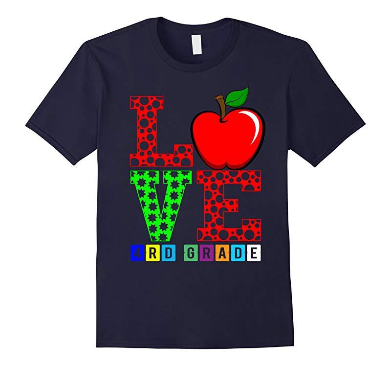 Love 4th Grade Teacher T Shirt-RT