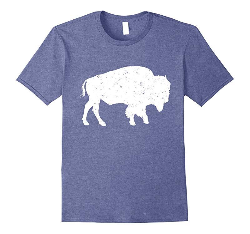 Sacred White Buffalo T shirt - Bison T shirt-TJ