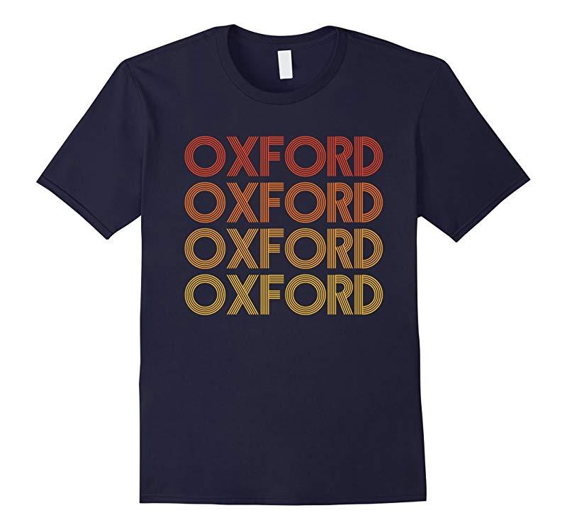 Oxford Mississippi - Retro Vintage T Shirt-RT
