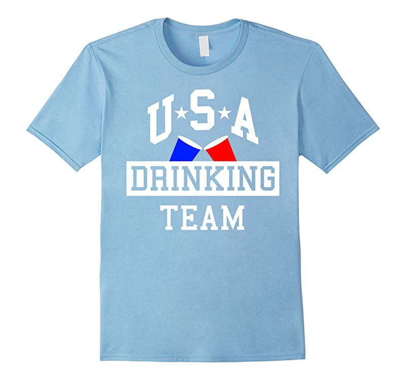 USA Drinking Team Party T-Shirt-RT
