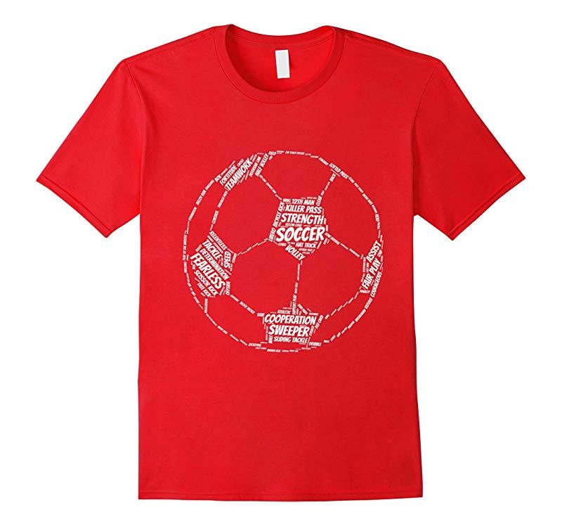 Kids Soccer Apparel - Soccer emoji quotes shirt for kids-RT