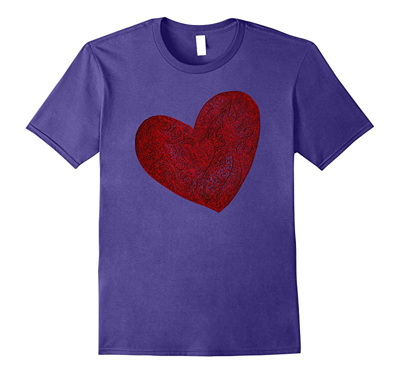 Wobbly Heart Graphic T-Shirt-RT