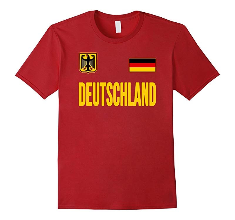 Deutschland T-shirt German Flag Germany Tee Travel Souvenir-RT