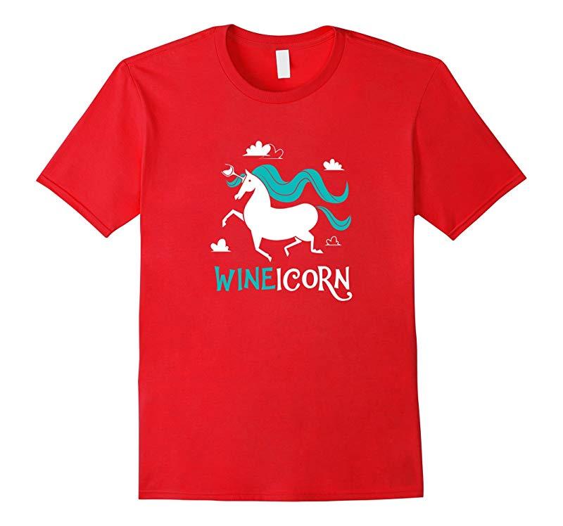 Wineicorn Wine Unicorn T-shirt-RT
