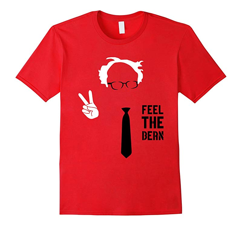 Bernie Sanders Feel The Bern President Peace Tie 2016 Shirt-RT