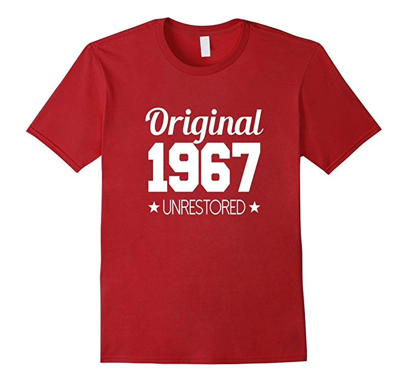 1967 T-shirt 50th Birthday Funny B-day Gag Joke Novelty Yr-PL