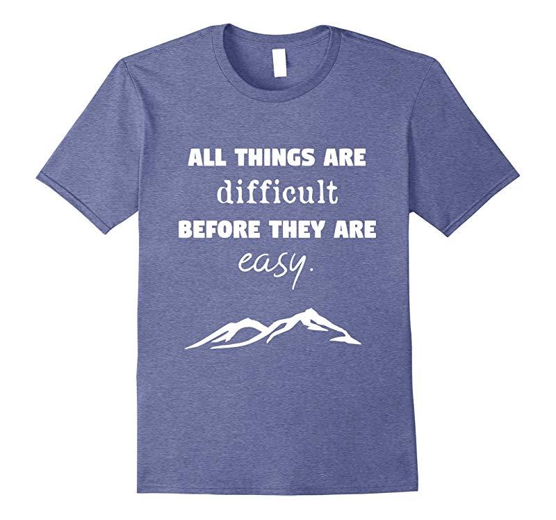 Inspiring Growth Mindset T-Shirt Teacher Quotes Gift-T-Shirt