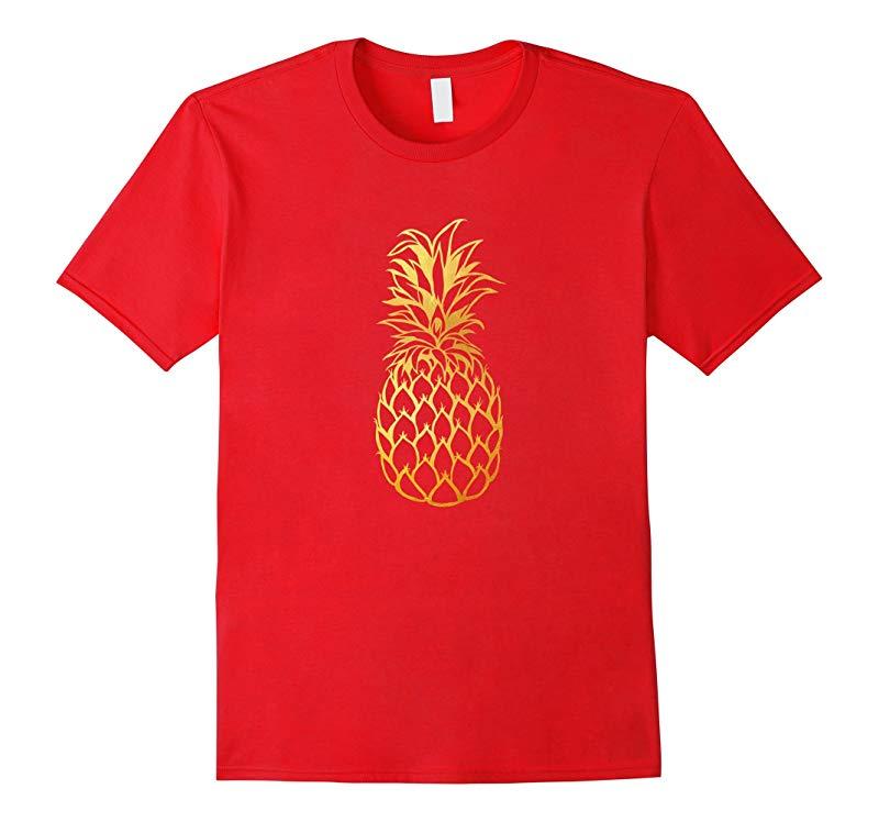 Gold Pineapple   Cute & Modern Gifts & T-Shirts   Fine-Apple-RT