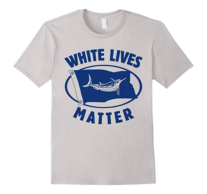 White Marlin lives matter shirt - WhiteGray colors-RT