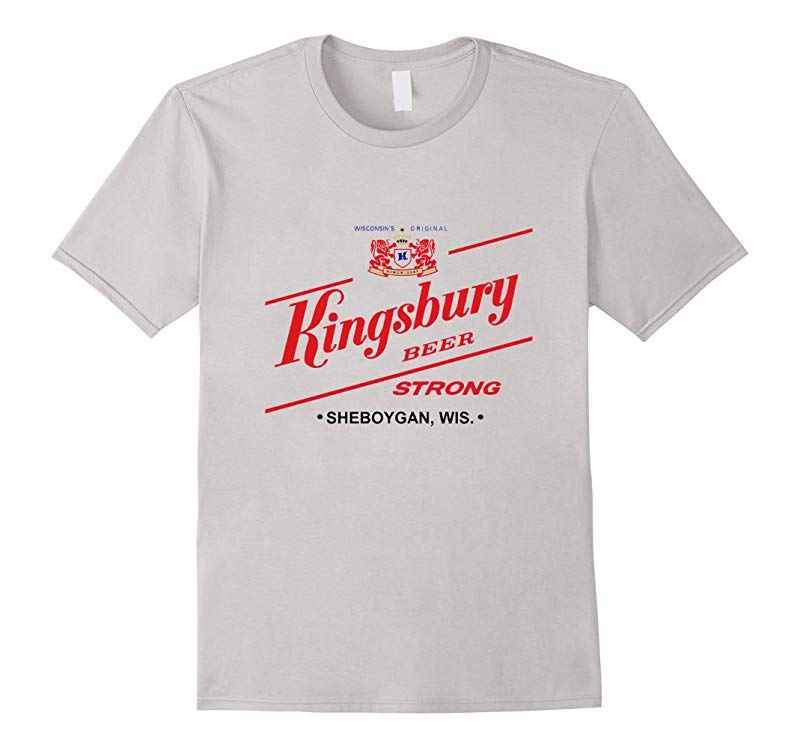 Vintage Beer Kingsbury Wisconsin logo shirt-CD