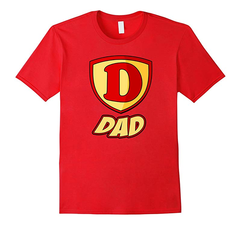 Dad Daddy Superhero T Shirt - Fathers Day Super Gift Tee-RT