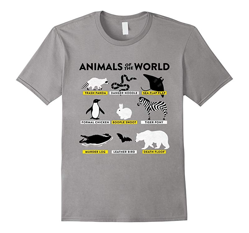 Animals of The World Snorg Tees Limited Edition-RT
