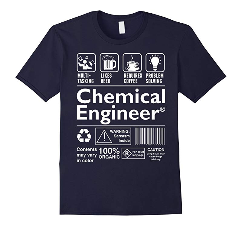 Beer Coffee Problem Solving Chemical Engineer Tshirt-RT