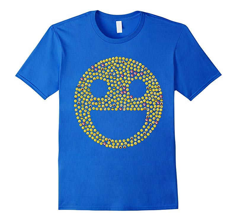 Smiley Face T-Shirt Emoji Happy Happiness Love Graphic Tee-TD