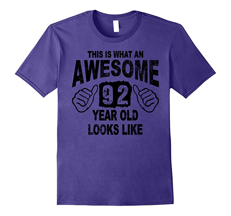 92nd Birthday 92 Years Old 1925 T-Shirt-PL