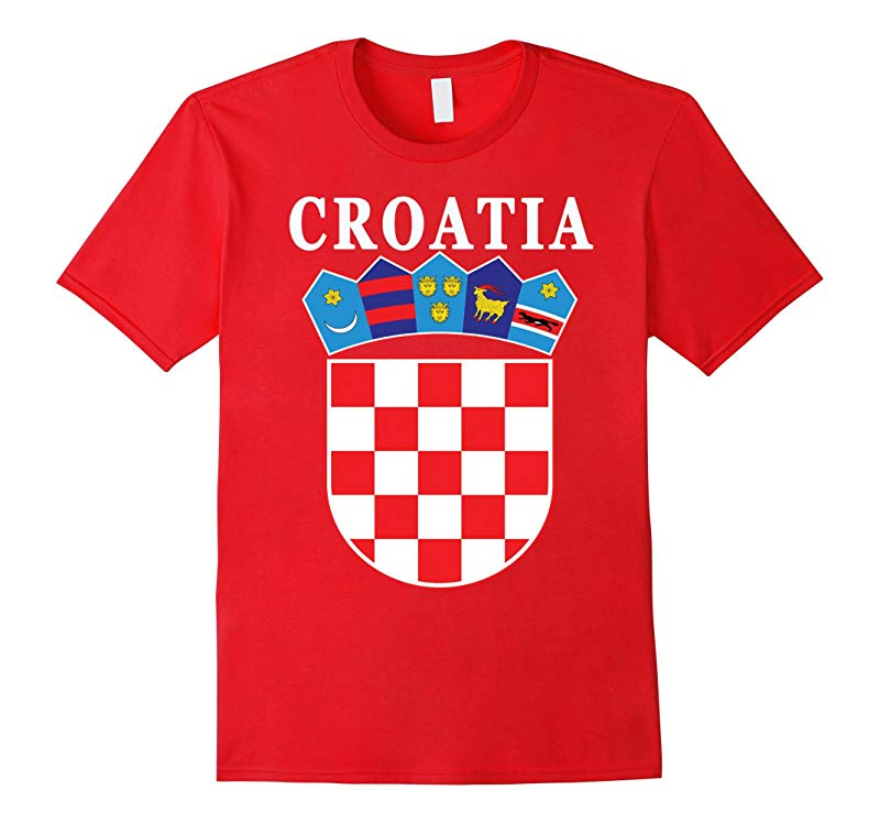Croatia National Coat of Arms T-shirt-TD