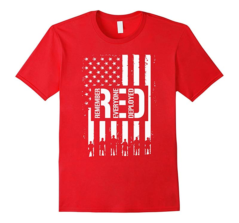 R.E.D Friday TShirt RED Friday Military T Shirt-4LVS
