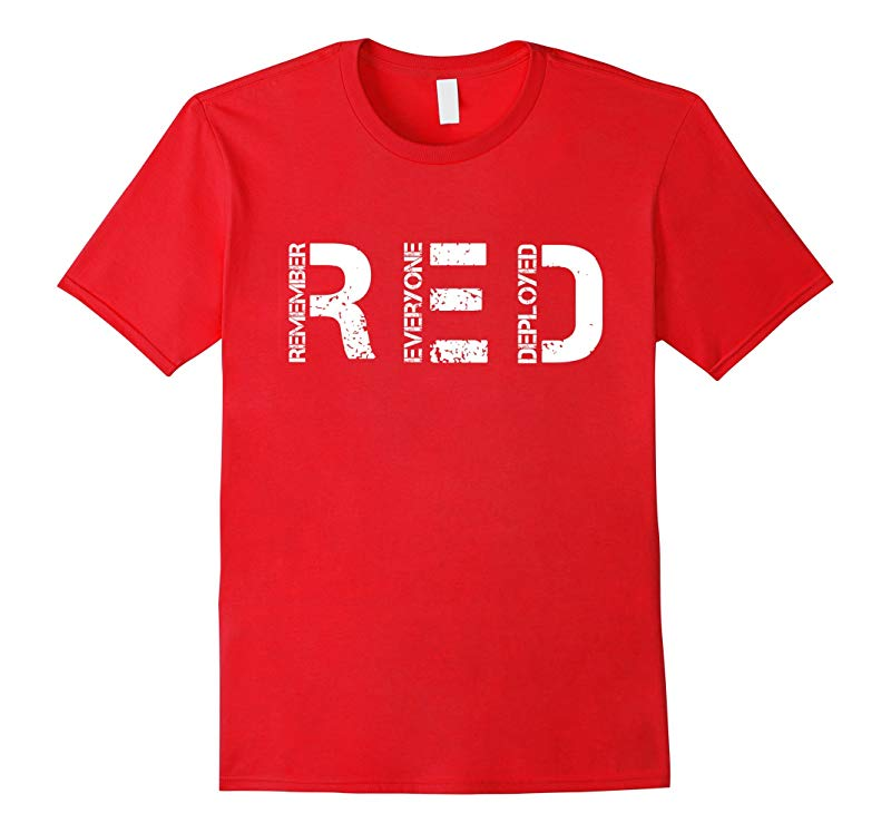 2-Sided Red Friday T-shirt-RT