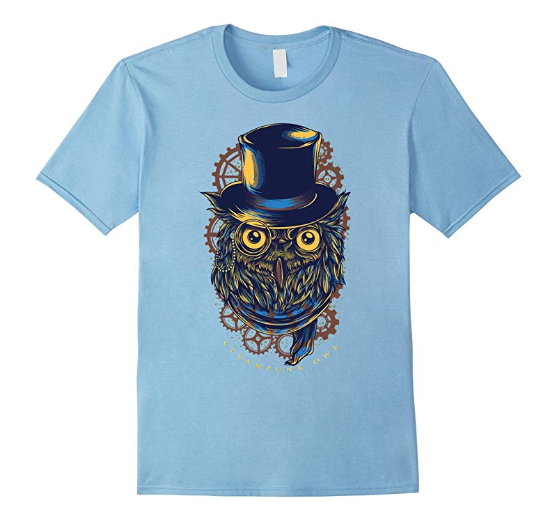 Steampunk Owl Hipster Cool TShirt-RT
