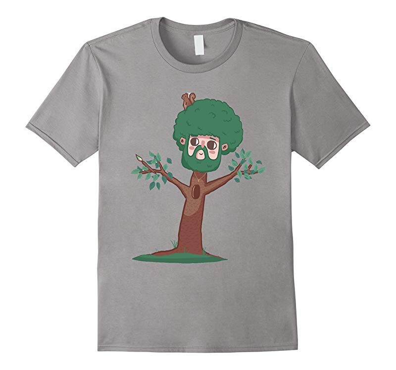 A Happy Little Bob Ross Shirt-RT