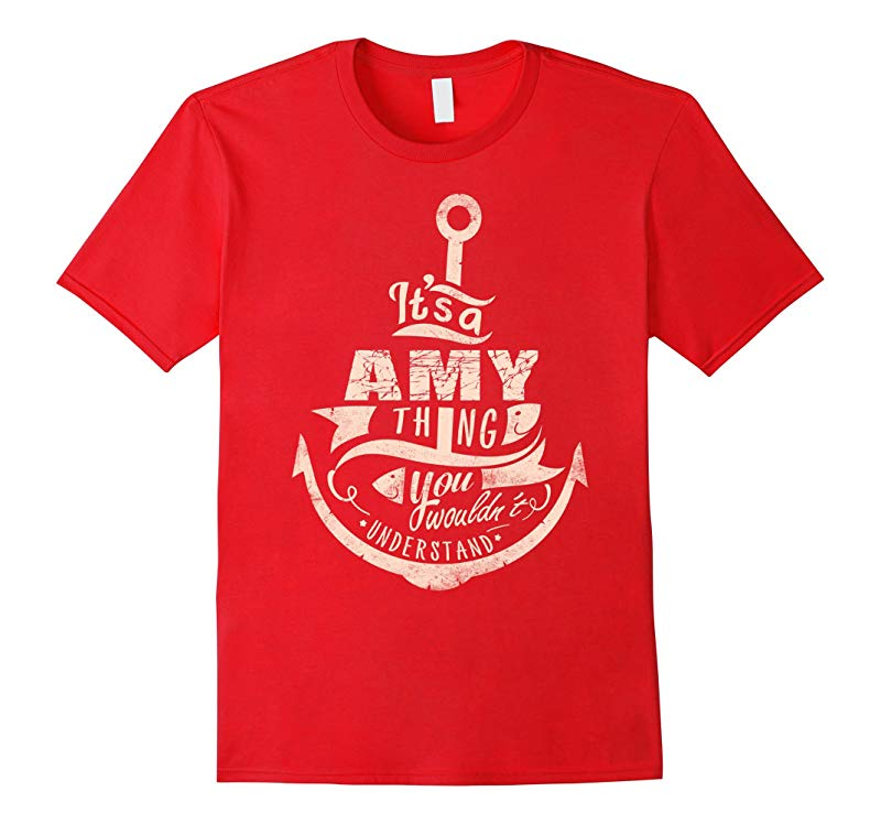 AMY T-shirt Nobody is perfect but if your name is AMY-RT